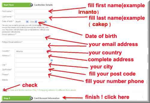 form registration payoneer