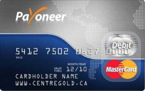 payoneer debit card