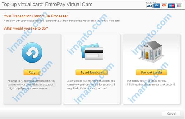 membuat vcc gratis di entropay pilihan lain jika top up gagal irnanto.com