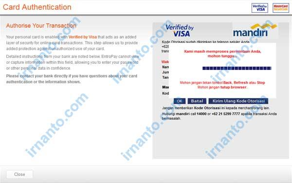 membuat vcc gratis di entropay proses verifikasi code verified by visa irnanto.com