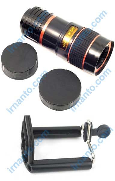 jual universal camera lens telescope 8x zoom tripod - holder - long lens - tutup lensa irnanto.com