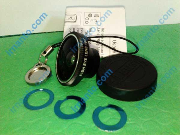 Jual Lensa hp portabel universal fisheye lens - kelengkapan produk fisheye lens - irnanto.com