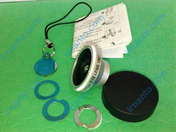 Jual Lensa hp portabel universal fisheye lens - kelengkapan produk fisheye lens silver - irnanto.com