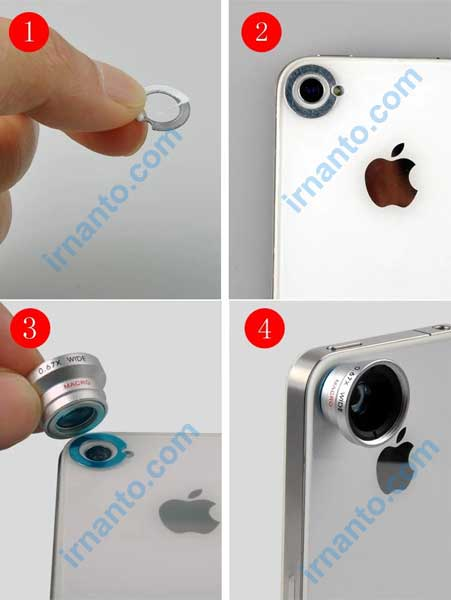 cara menggunakan lensa hp magnet - irnanto.com