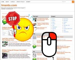 cara menonaktifkan klik kanan pad blog