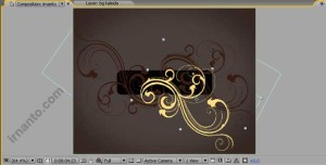 hasil duplikat perubahan fill color dan pergeseran objek di after effects