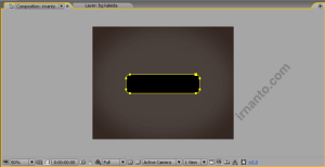 hasil pembuatan rounded rectangle tool