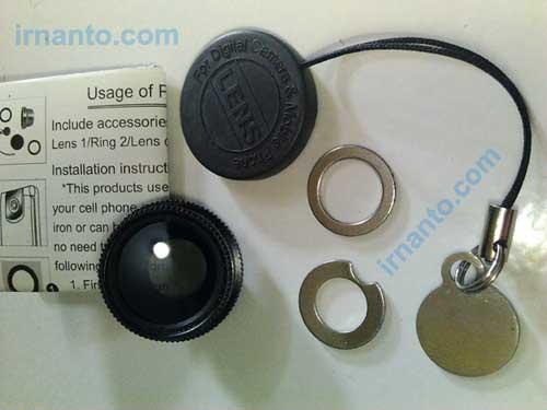 kelengkapan filter lensa cpl