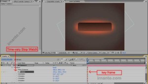 pembuatan key frame di after effects