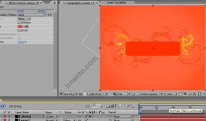perubahan mode dan fill color layer di after effects