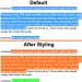 seleksi teks atau blok teks