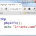 Tampilan Highlight PHP Code