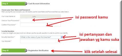 gambar form account irformation payoneer
