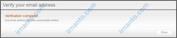 membuat vcc gratis di entropay aktivasi email di entropay berhasil irnanto.com