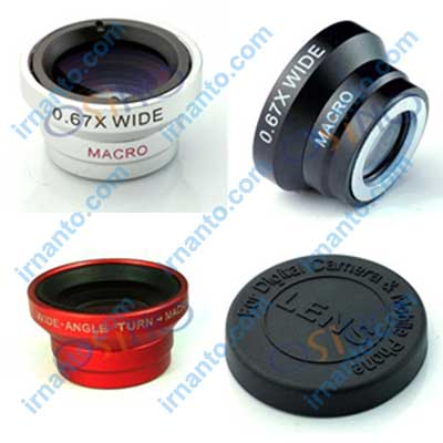 Jual VEENTOOK OSINO 0.67x Wide + Angle Micro Lens Kit camera pilihan warna irnanto.com