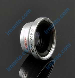 Jual VEENTOOK OSINO 0.67x + Wide Angle Micro Lens Kit camera silver irnanto.com