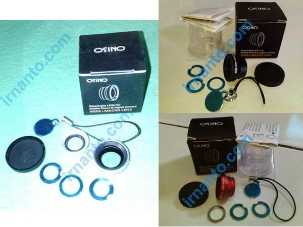 Jual VEENTOOK OSINO 067x + Wide Angle Micro Lens Kit camera tiga warna - irnanto.com