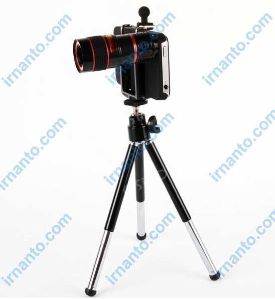 jual universal camera lens telescope 8x zoom tripod contoh penggunaan irnanto.com