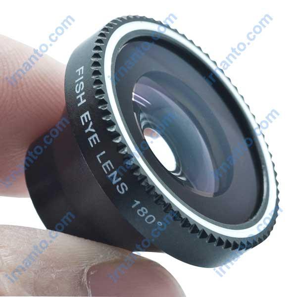 Jual Lensa hp portabel universal fisheye lens - model fisheye lens - irnanto.com