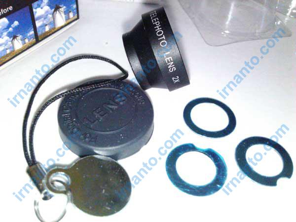 Kelengkapan lensa 2x zoom - 2x telephoto lens - irnanto.com
