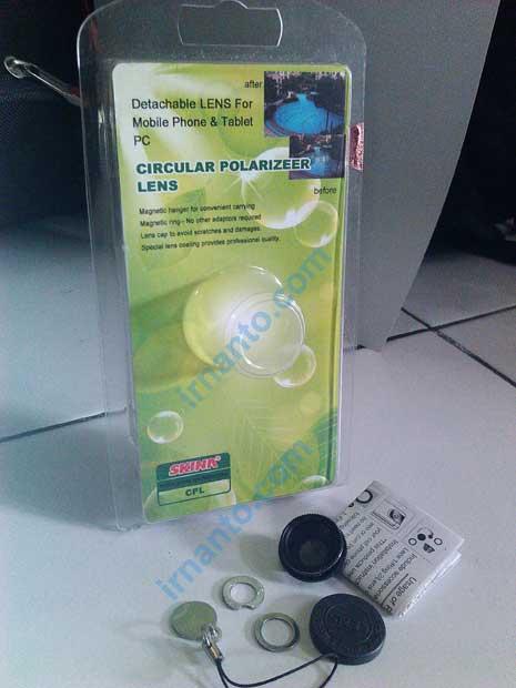 circular polarizer lens universal merk skina