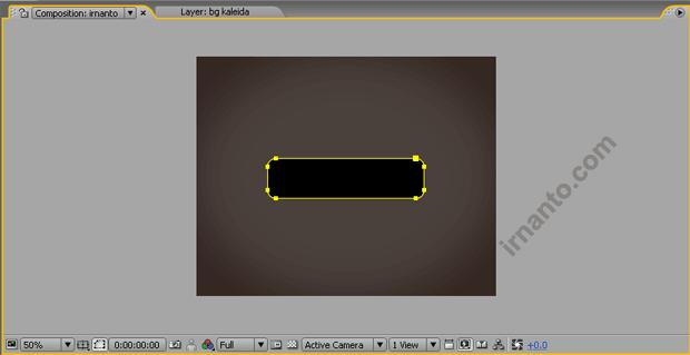 hasil pembuatan rounded rectangle tool