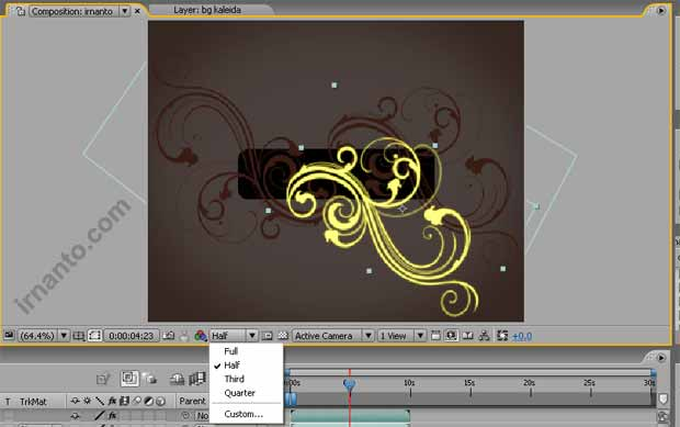 membuat effek glow di after effects