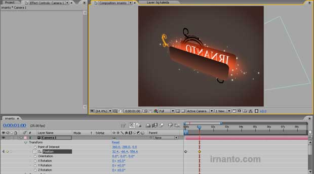 pembuatan animasi di after effects