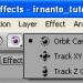 pilih orbit camera tool di after effects
