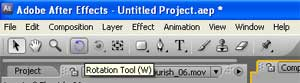 rotation tool after effects
